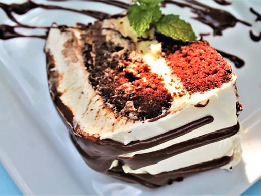 Olive Oil Chocolate Cake with Greek Yogurt Frosting (VIDEO)