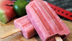 Creamy Watermelon-Lime Popsicle (VIDEO)