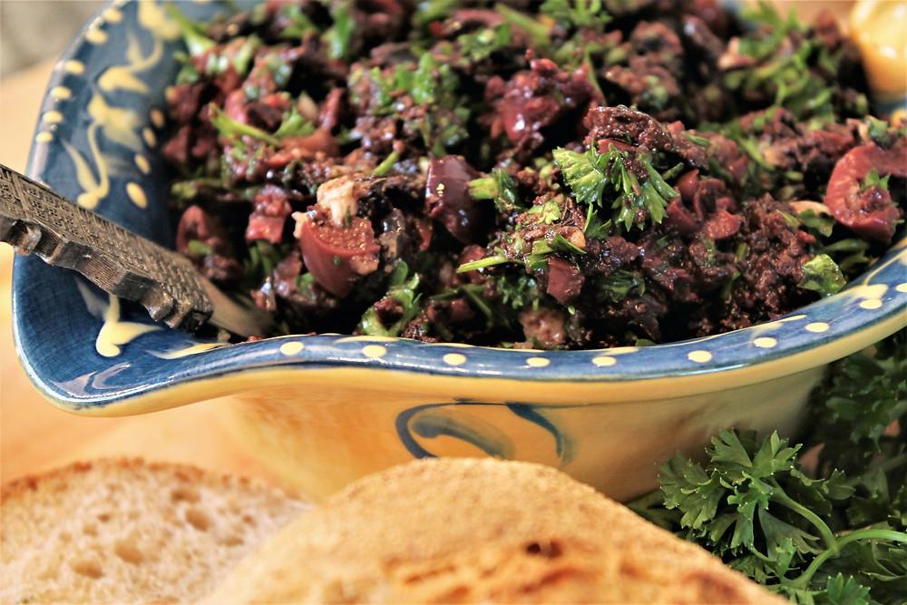black olive tapenade