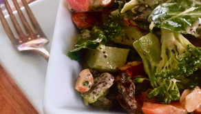 Vegan Broccoli Salad with Tahini Poppy Seed Dressing (VIDEO)