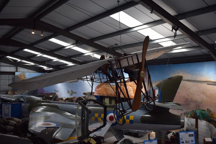 Bleriot Monoplane replica