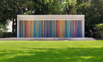 Ian Davenport unveils new monumental work in Venice - The Swatch Pavilion, Venice