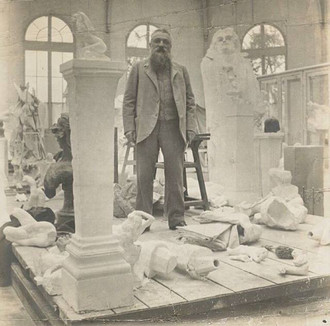 Barry Flanagan's 'Large Monument' featuring in 'Rodin: L'Exposition du Centenaire',  22 March – 31 J