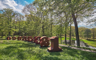 Robert Indiana: ONE through Zero The Glass House, New Canaan