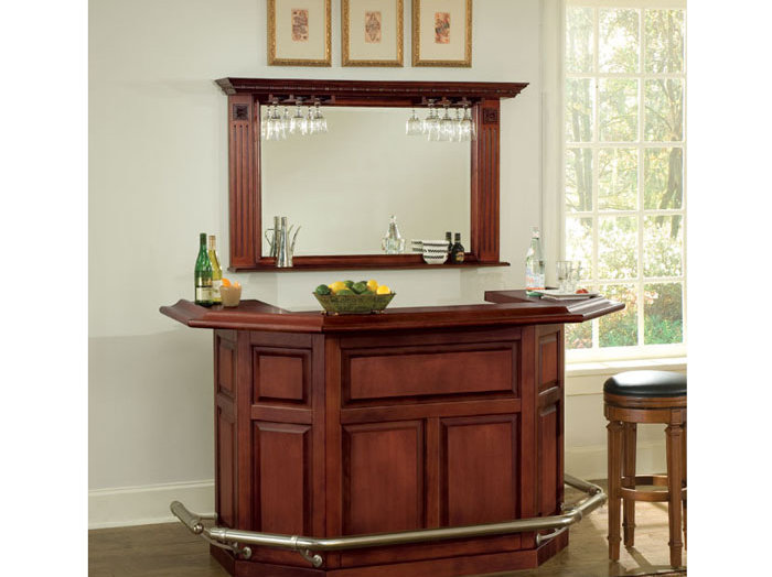 Peachy Augusta Bar Package With Mirror And Stools Allentowntables Gmtry Best Dining Table And Chair Ideas Images Gmtryco