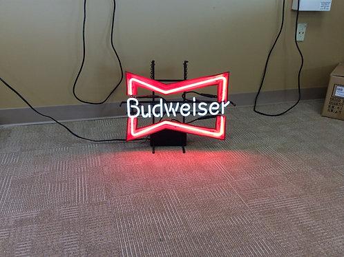 Bud Bowtie Neon