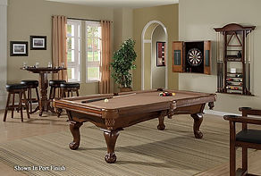 This series of Pool Tables is collected with one thing in mind-your budget!