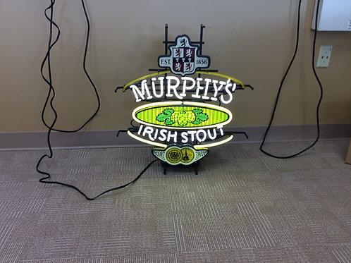 Murphys Irish Stout Neon