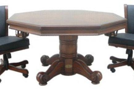 """Walnut 54"""" 3 in 1 Table"""