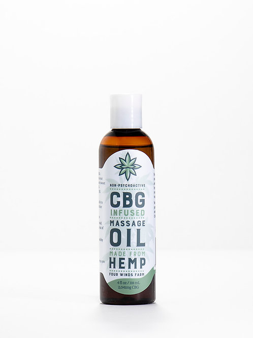 Massage Oil, 4oz