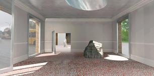Art space, interior