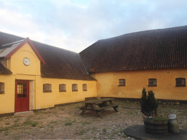 Inner court yard, Ravnshøjgaard, current state.