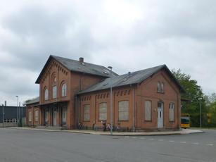 Skælskør train station, current state 2018