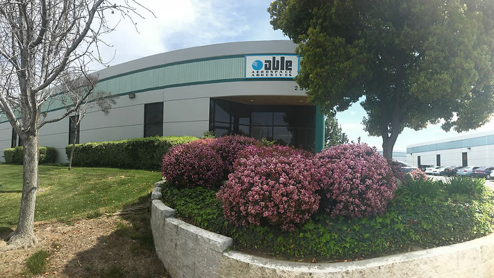Able Aerospace Adhesives' headquarters in Valencia, CA.