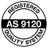 AS9210 Rev B certified (quality).