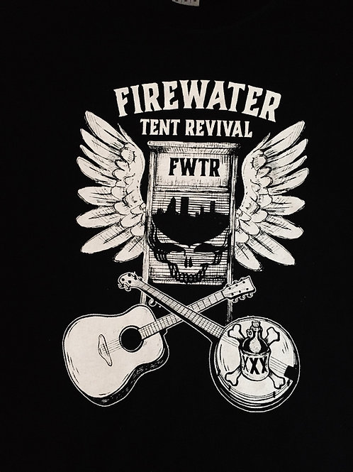 NEW deadwash men's T-shirt black