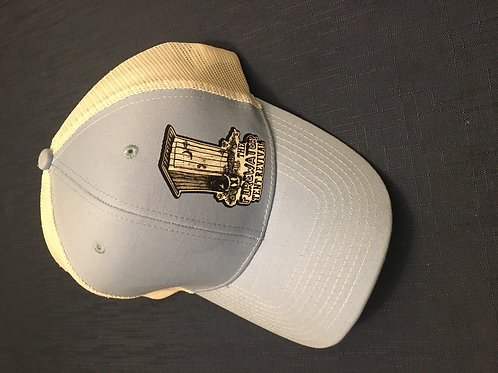 Hat baby blue outhouse logo
