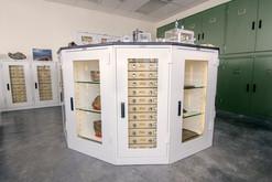 1Meteorite Storage in Geology Cabinets,
