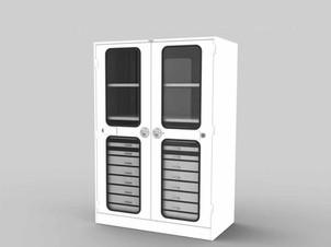 Versatile Full-height cabinet model 238