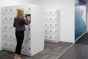 Day Use Lockers Office Employee Secure S