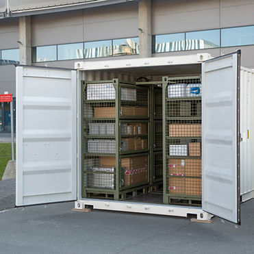 Deployable Storage Container