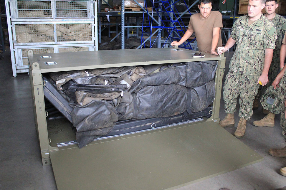MGPTS Shelter in Deployable Storage Box.