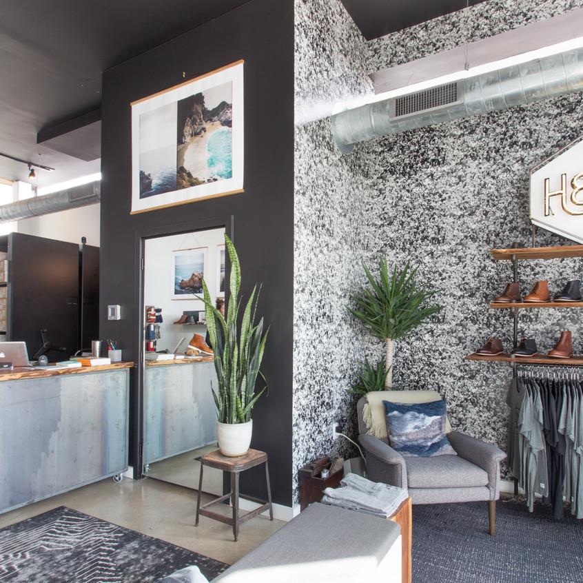 Space-saving retail design in Texas