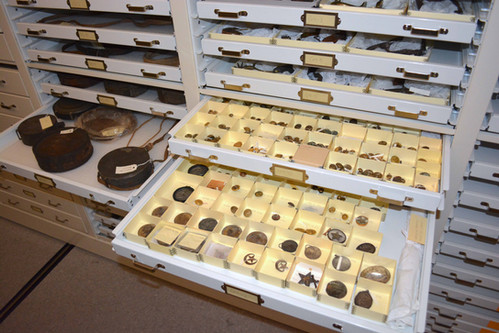 Museum Trays Small Artifact Civil War St