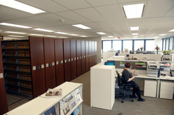 Law Library in an Open Office using High-Density 1