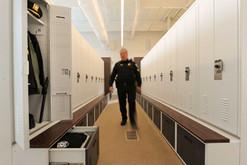 Storage Lockers at Skokie Police Departm