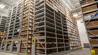 Storing Long-Term Evidence on High-Bay Shelving