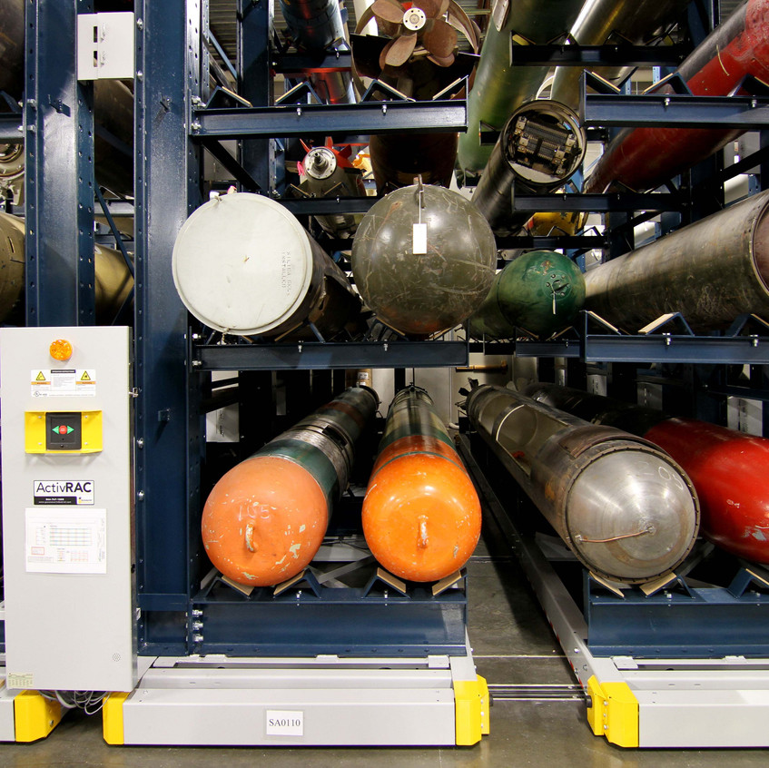 AC 16P for Torpedo Storage at Naval Undersea Museum