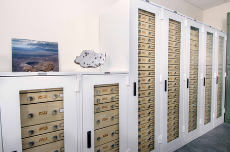 Meteorite Preservation Museum Cabinets S