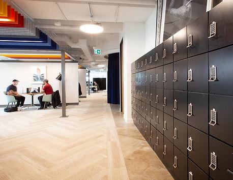 [Case Study] Modular Office Firm Lockers