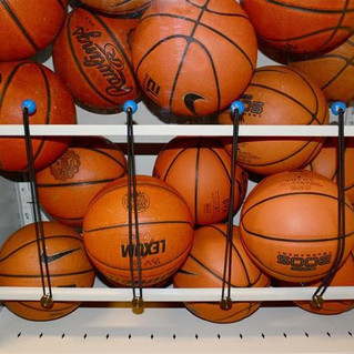 St. Mary's Academy Bay View Rocks Their Spacesaver Sports Equipment Storage