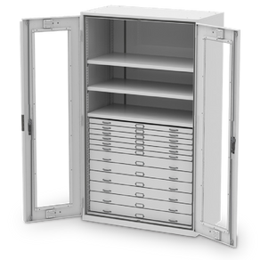 SAFETY FEATURES OF VIKING PRESERVATION CABINET 920 SERIES