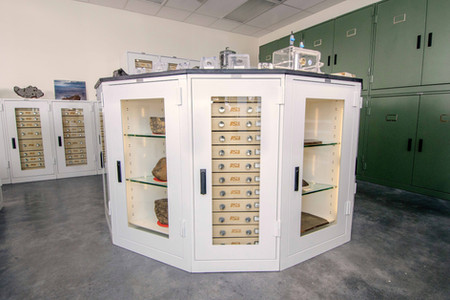 Meteorite Storage Geology Cabinets Arizo