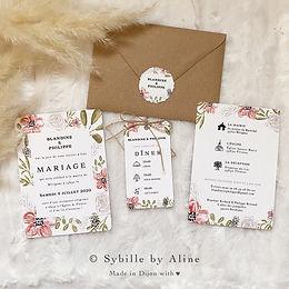 mariage, sybillebyaline, wedding, illust