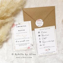 mariage, wedding, sybillebyaline, design