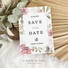 sybillebyaline, save the date, fairepart