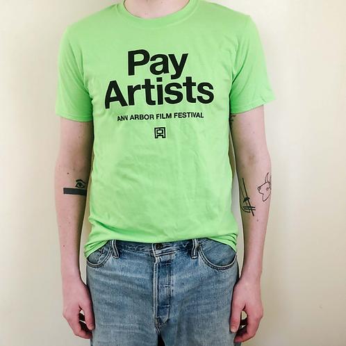 Pay Artists shirt
