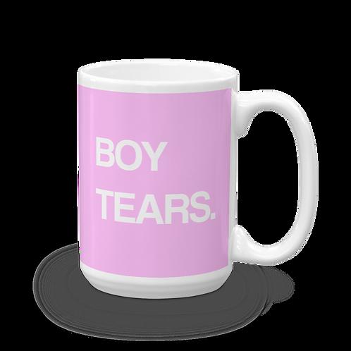 """Boy Tears"" Mug"