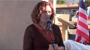 Ana Garner Speaking at Backstreet Grill