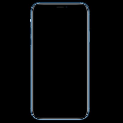 Photo d'un iphone XR vierge pour afficher une publicité