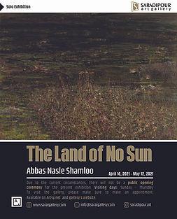 Poster, The Land of no Sun, Abbas Nasle