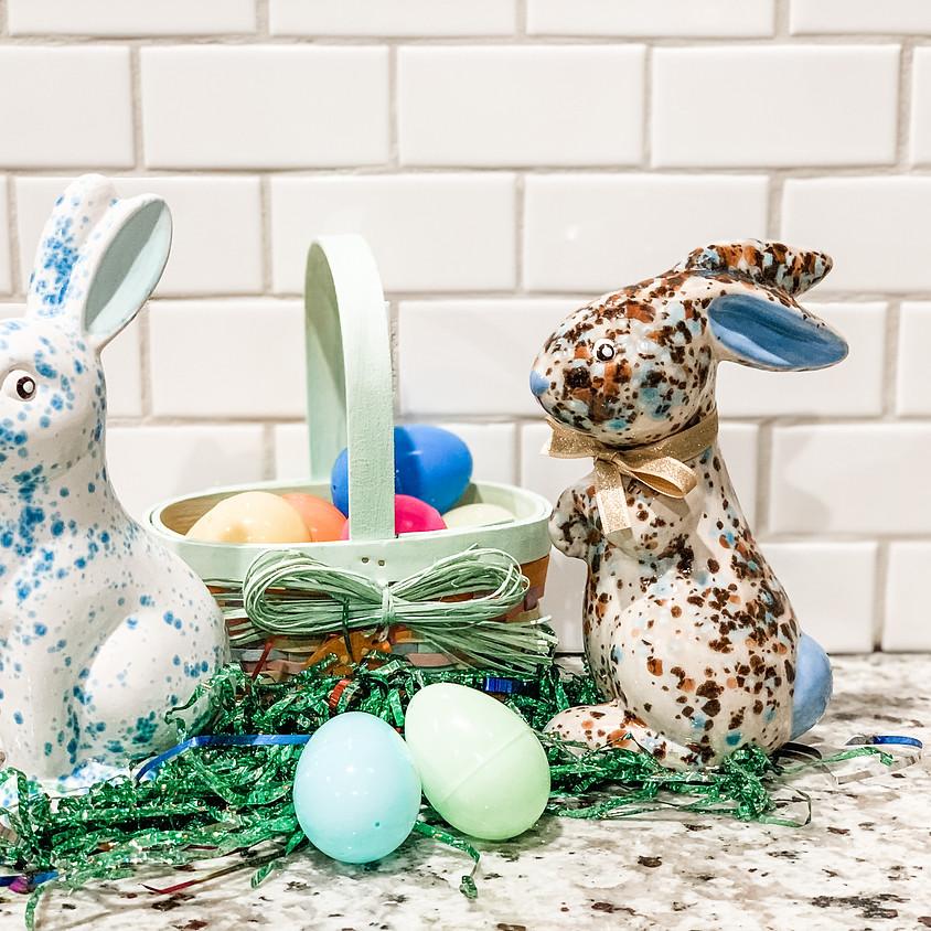 Bunny Pottery To-Go Kits