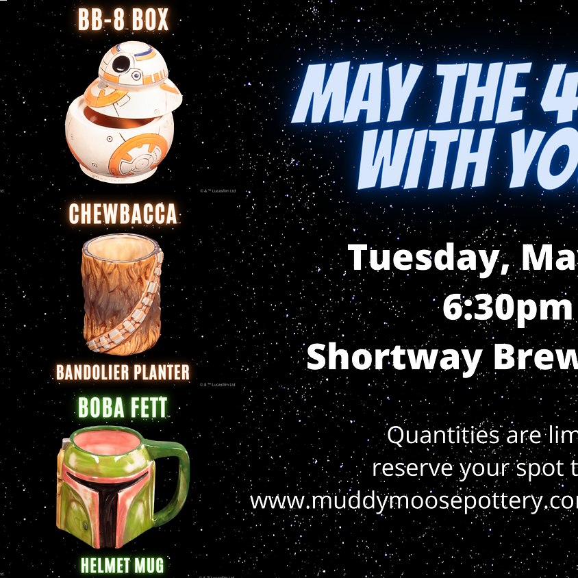 Brews & Brushes: May the 4th