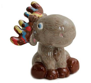Ceramic Moose