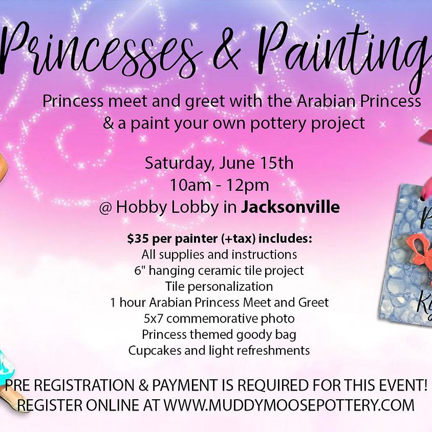Princesses & Painting - Jacksonville