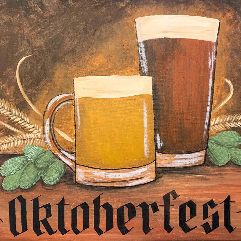 Brews & Brushes - Oktoberfest